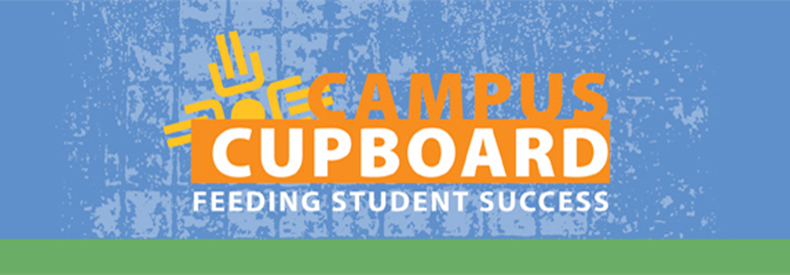 the logo for campus cupboard