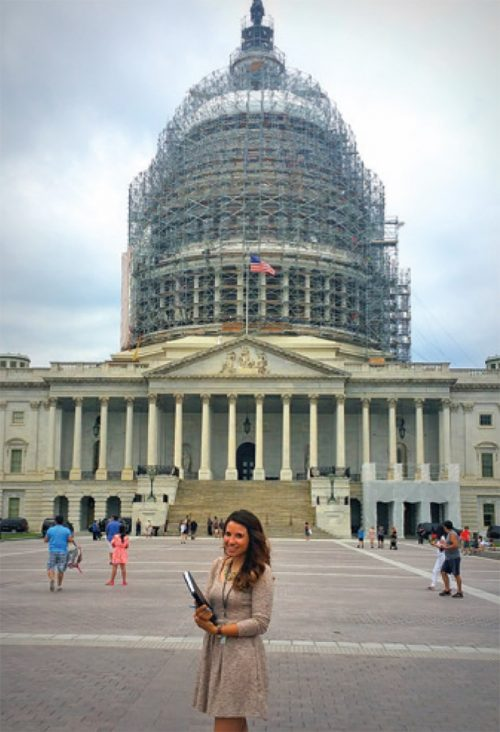 Cindy Nava worked in Washington, D.C. as the first undocumented immigrant to serve as an intern for the Democratic National Committee Headquarters.