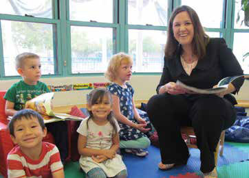 Early Childhood Center of Excellence Director Jennifer Duran-Sallee is an energetic leader in the effort to reshape early childhood education in New Mexico.