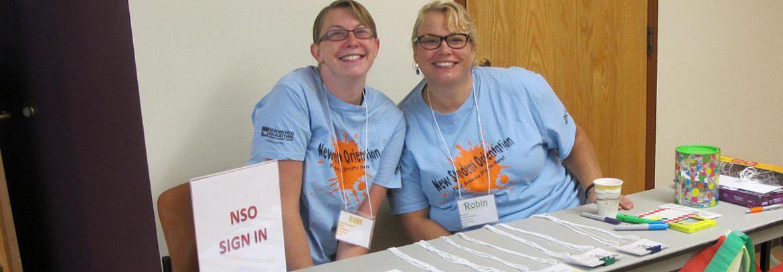 registration table 2 women