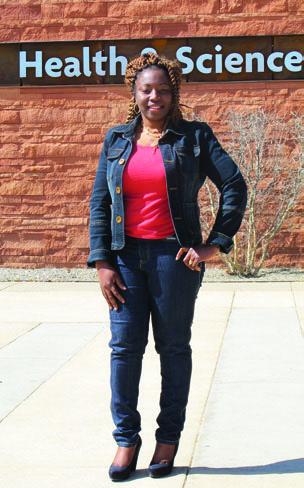 CBT Scholarship recipient Angela Udemezue
