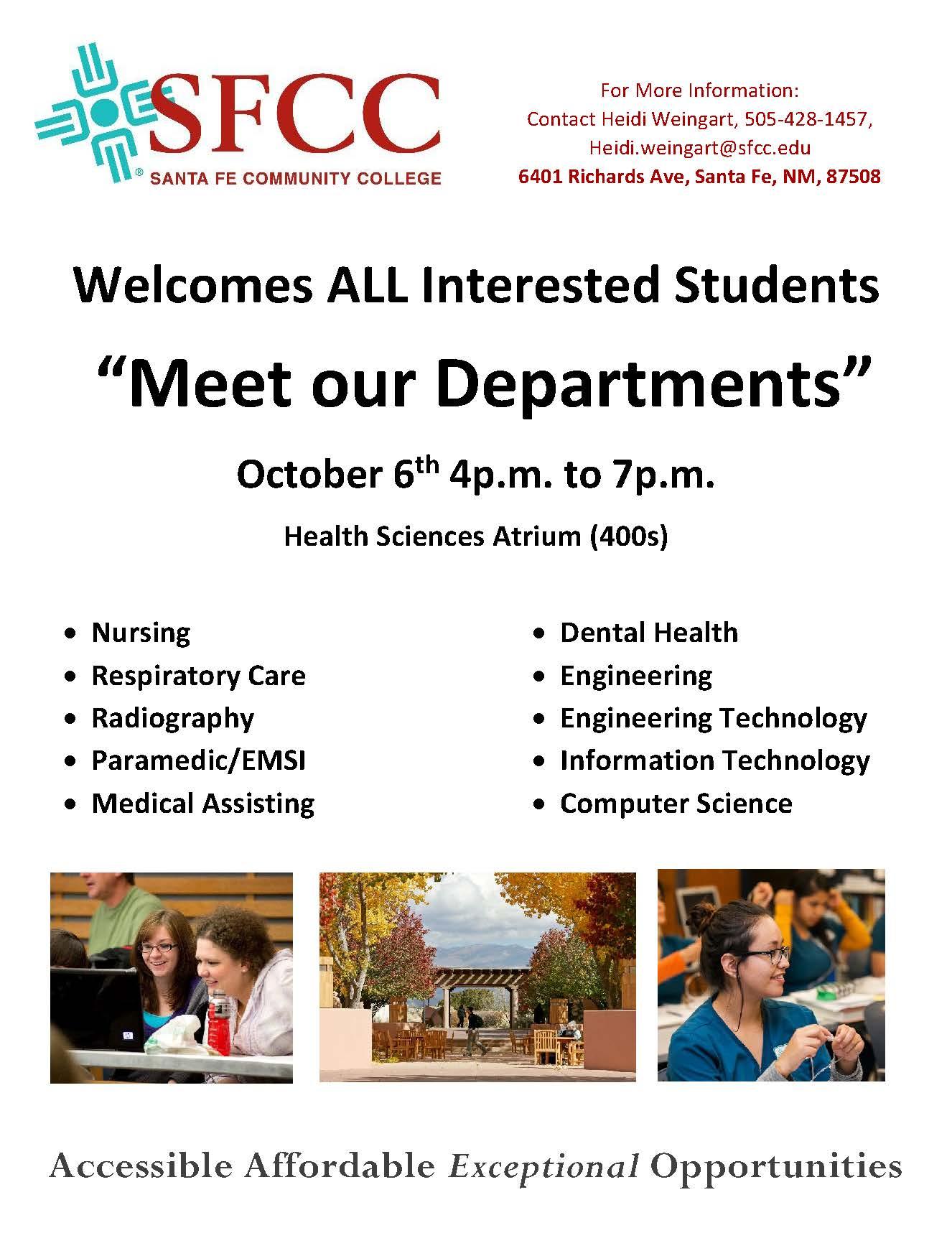 STEM health program: ITT tech students