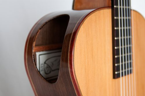Sam Blackwell Cedar and Wenge Classical Detail