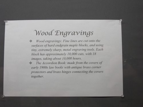 An explanation of the wood engravings used in the