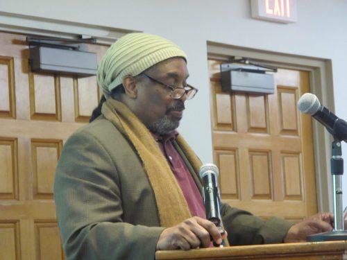 Jamal Martin, Ph.D. spoke on Feb. 12 and delivered a presentation on
