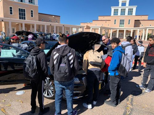 The competition gave students the opportunity to find out what SFCC's automotive technologies program offers.