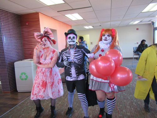 SFCC's costume contest brought out a mix of scary and funny costumes worn by students and staff.