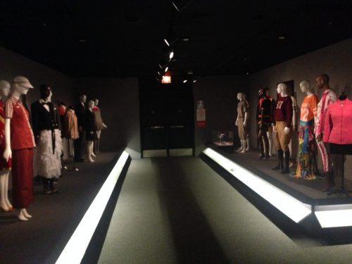 Fashion display in NY