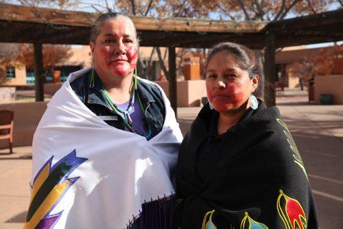Associate Dean Brooke Gondara and Lee Standing Elk, courtesy of Katherine Lewin