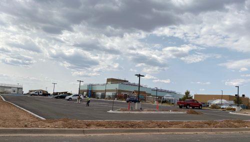 New ATC Parking Lot adjacent to TATC
