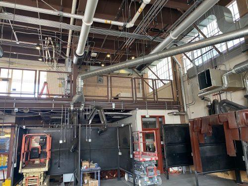 Welding Lab Renovation progress