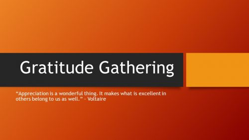 Gratitude Slide 1