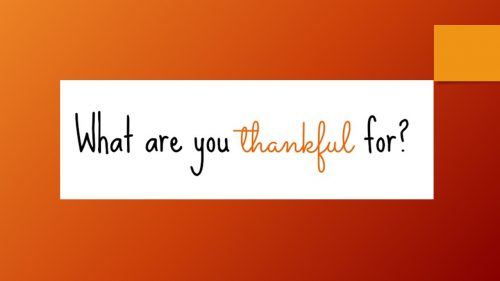 Gratitude Slide 2