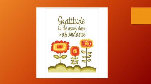 Gratitude Slide 5