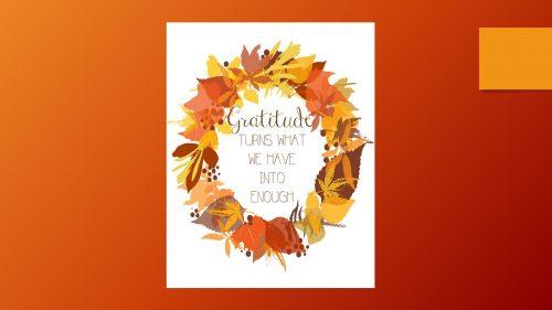Gratitude Slide 8