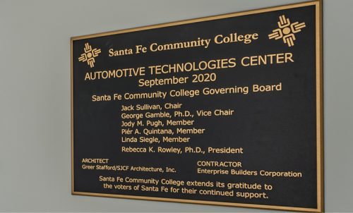 The new Auto Tech Center is thanks to our local voters