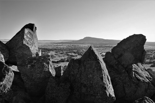 The Galisteo Wave by Jim Wysong