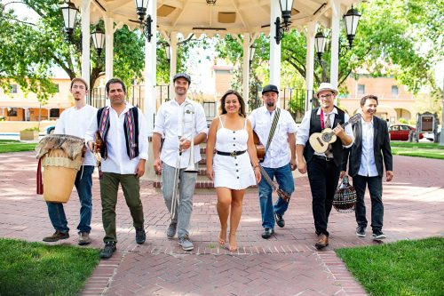 Baracutanga will perform in Santa Fe on August 1, 2021. Photo credit: Q.Q. Jade Photography.