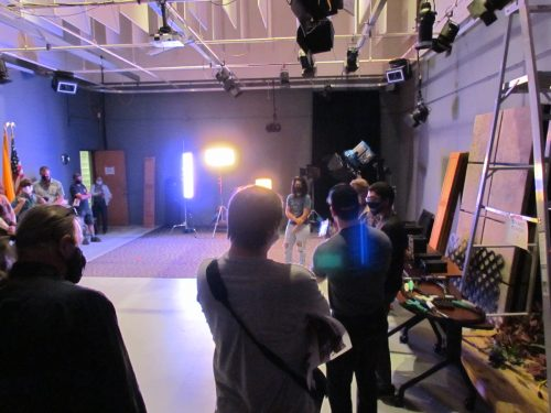 Tours of the film studios were a big hit.